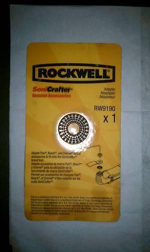Bosch Dremel Rockwell Sonicrafter RW9190 Adapter FEN
