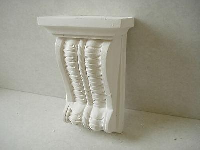 Plaster Corbels x 2 (Small leaf Design)