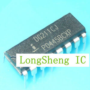 5PCS-DG211CJ-PDIP-16-Switch-ICs-Quad-SPST-CMOS-Normally-Closed-new