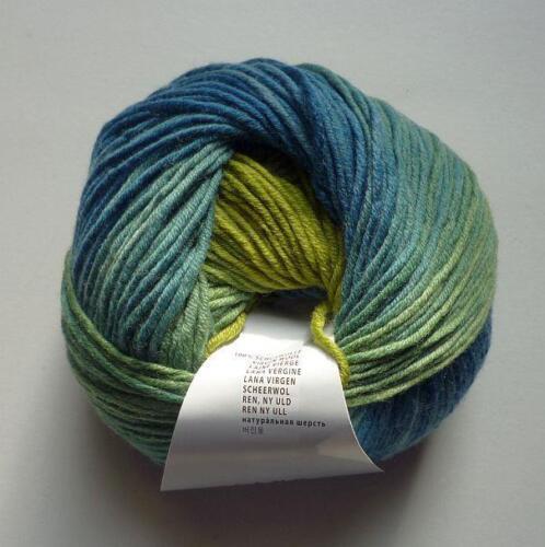 Lang Yarns Merino color 180m//100g Farbverlaufsgarn Fb.44