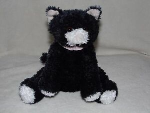 M-amp-S-BLACK-CAT-SOFT-TOY-COMFORTER-DOUDOU-MARKS-AND-SPENCER
