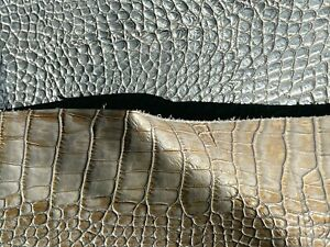 Embossed Leather Pieces - 1 lb. bag with 1-3 pieces per bag