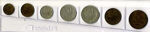 7-Monedas-Rusia-URSS-CCP-anos-variados-coins