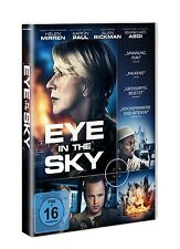 EYE IN THE SKY (2016) (Helen Mirren, Aaron Paul, Alan Rickman) DVD NEU