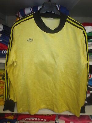 Maillot ADIDAS vintage porté n°2 Ventex shirt trikot jersey Trefoil années 80 S | eBay