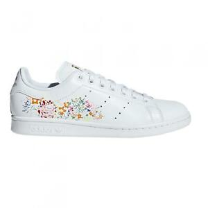 Details zu Womens ADIDAS STAN SMITH White Trainers BC0259