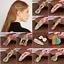 Korean-Design-Rainbow-Pearl-Hair-Clip-Snap-Barrette-Stick-Hairpin-Sweet-Snap thumbnail 1