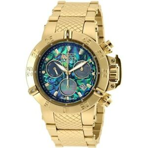 Invicta-90142-Subaqua-Noma-III-Swiss-Quartz-Chronograph-Abalone-Date-Mens-Watch