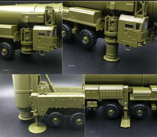 New 1:72 Russian RT-2PM Topol-M SS-25 Sickle B Missile 4D Unassembled Model Kit