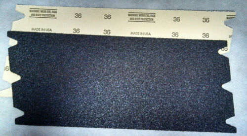 "Drum Sander 8/"" x 19 1//2/"" 36g Floor Sander Sandpaper"