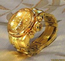 Invicta Reserve Miniature Venom Watch –46mm– Gold (Rose Gold bezel)-Pre-Owned