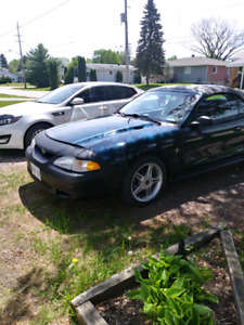 1994 Ford Mustang convertible 3.8 ltr 5 speed  manual