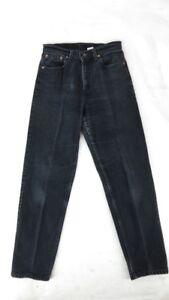 tesa gamba vintage Sz donna Made nero Jeans Juniors USA M sbiadita 9 a ZpAxF8