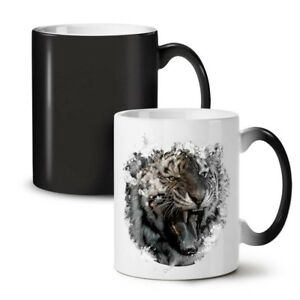 Wild Animal Tiger NEW Colour Changing Tea Coffee Mug 11 oz | Wellcoda