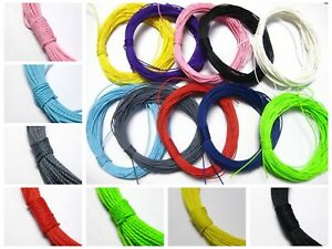 50-Meters-Waxed-Polyester-Twisted-Cord-1mm-Macrame-String-Linen-Thread-Various