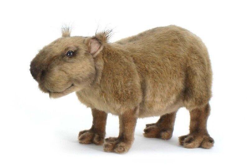 Hansa Toy 5128 Capybara (Wasserschwein) 32 Cm Soft Toy Stuffed Animal Toy