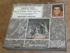 VERDI la forza del destino PREVITALI 1993 ITALY 3-CD + BOOKLET
