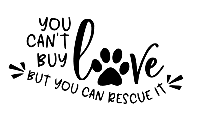 Promote Rescue Dogs Don/'t shop Adopt Sticker Buy Pizza Not Puppies Car Decal