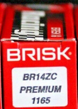 1X SPARK PLUG Brisk BR14ZC= DENSO X22ES-GU X22ESR-U NGK DR7EA DR7EB DR7ES DR7EVX