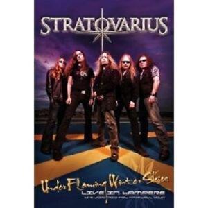 STRATOVARIUS-034-UNDER-FLAMING-WINTER-SKIES-LIVE-IN-TAMPERE-034-DVD-NEUF