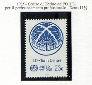19180-UNITED-NATIONS-New-York-1985-MNH-Nuovi-ILO
