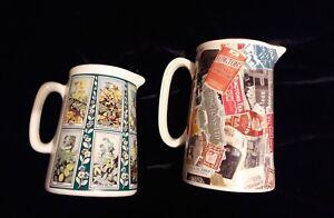 2 Ceramic Decorative Jugs Vases 6 8 Ringtons Snapshots Wade