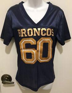 Rhinestone Bling Denver BRONCOS Jersey