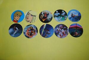 Belle 050 Pogs Pog Caps Milkcaps Flippo : Lot De 10 Skippies