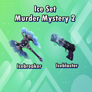 MM2 Ice Set (2 Weapons) Super Cheap - Very Rare