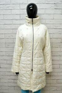 CALVIN-KLEIN-Donna-Giacca-Piumino-Giubbotto-M-Giubbino-Jacket-Bianco-Cappotto