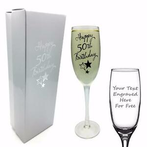 Personalised-Engraved-50th-Birthday-Champagne-Flute-Prosecco-glass-Gift-G31850-P