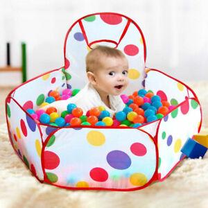 Portable-Interieur-Enfants-Bebe-Jeu-Jouet-Jouet-Tente-Ocean-Ball-BR