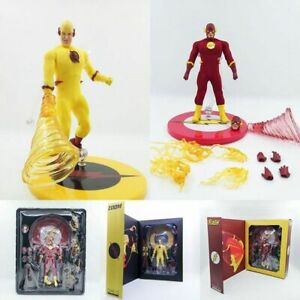 Mezco-DC-Comics-The-Flash-Zoom-One-12-PVC-Action-Figure-Collectible-Model-Toy