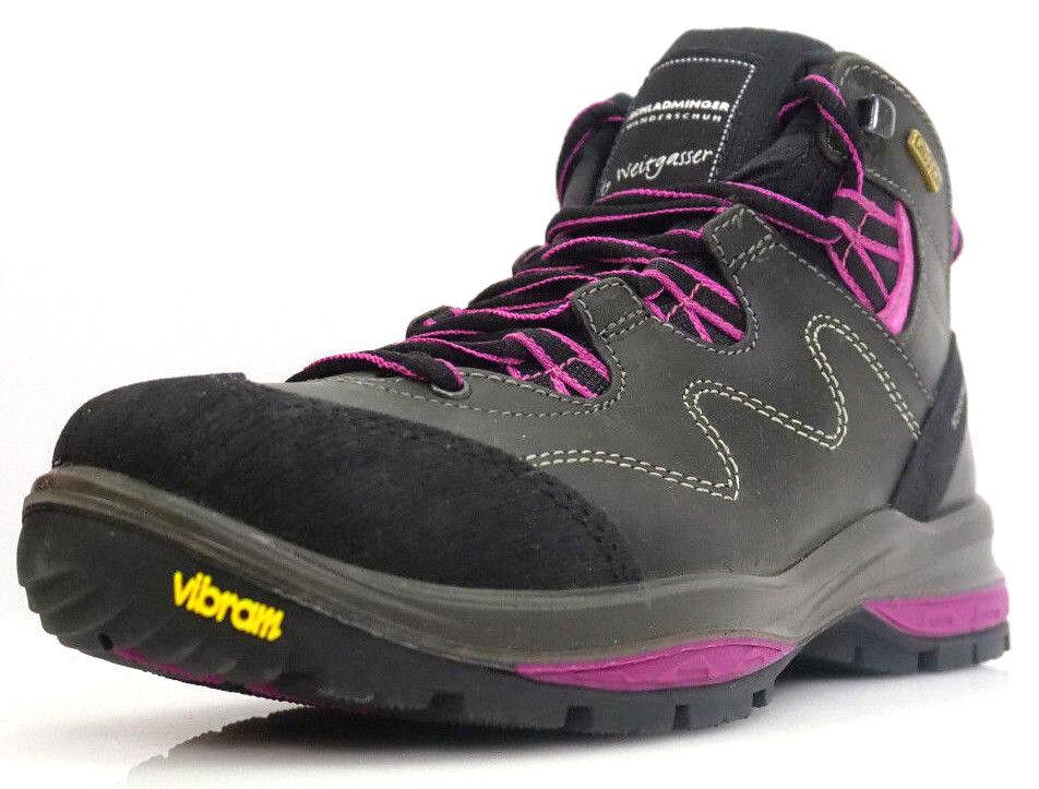 Schladminger 12529D93G Calz. Gr.37 Wanderschuhe Trekking Stiefel Schuhe Schwarz