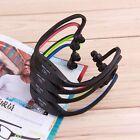USB Sport Running MP3 Music Player Wireless Headset Headphone Earphone TFSlot SM