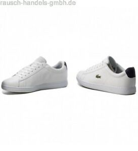Evo 217 Shoes Mens Bnwt Lacoste Trainers 33spm1021042 Carnaby 7 1 Uk IDW9EH2