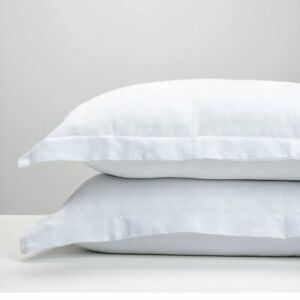 Details about Luxury 400 Thread count Hotel Quality 100% Cotton 2 x Oxford Pillow Cases Covers