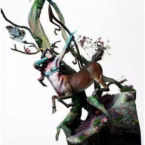 65mm-Resin-Figure-Model-Kit-Sexy-Girl-Centaur-Druid-Hunter-no-baza-Unpainted