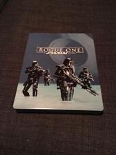 Star Wars Rogue One 3D/2D Blu-Ray DVD Digital HD Steelbook Best Buy Limited Ed.