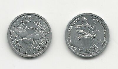 New Caledonia 1949 50 Centimes Uncirculated KM1
