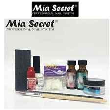 MIA SECRET - Clear ACRYLIC NAIL System STARTER KIT