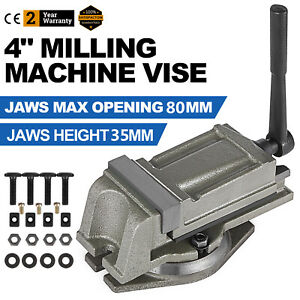 "4/"" PRECISION MILLING MACHINE VISE with SWIVEL BASE Lathe CNC Grinder M850400"