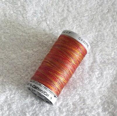 Gutermann Sulky Embroidery Thread, Cotton 30,300m spool,4006, Vari Autumn