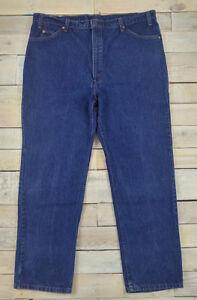 taglia blu gamba anni lavata 42x30 jeans made scura in 509 Jeans Levis USA vintage '80 xTwgnfSqv8