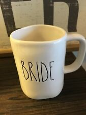 Rae Dunn By Magenta BRIDE Coffee Tea mug NEW Large Letter Artisan Collection LL