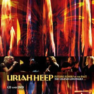 Uriah Heep – Future Echoes Of The Past  The Legend Continues 2-cd + dvd in seal