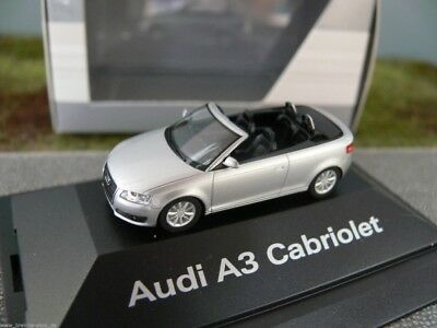 1//87 Herpa Audi A3 Cabriolet eissilber 392740