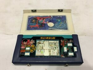 LUPIN-THE-3RD-Third-Epoch-1984-LCD-Game-Watch-Handheld-w-original-case-Japan