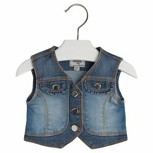e99a2d650 Mayoral Baby Girl 3M-24M Mix Media Denim Vest