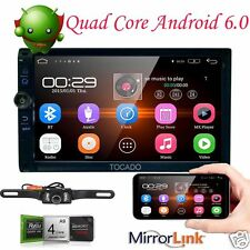 "7"" 2Din Android 6.0 Car Stereo Wifi CD DVD Player GPS Wifi 3G Radio Touch Screen"